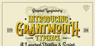 Free Grantmouth Display Font