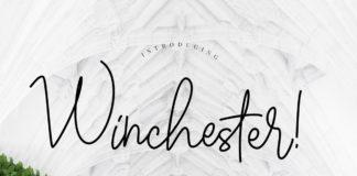 Free Winchester Signature Script Font