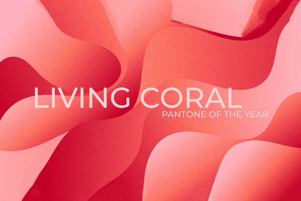 Free Living Coral Abstract Backgrounds