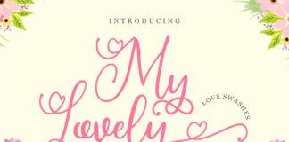 Free My Lovely Script Font