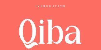 Free Qiba Simple Serif Font Family
