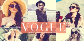 Free Vogue Lightroom Preset