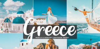 Free Greece Lightroom Preset