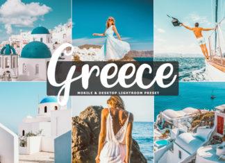 Free Greece Lightroom Preset