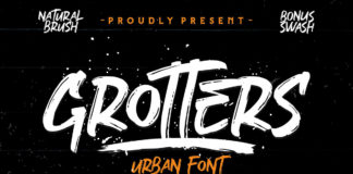 Free Grotters Urban Font
