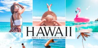 Free Hawaii Lightroom Preset