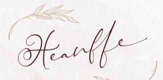 Free Heanffe Handwritten Script Font