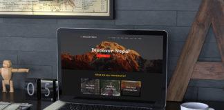 Free Himalayan Travels PSD Template