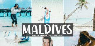 Free Maldives Lightroom Preset