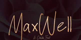 Free Maxwell Script Font