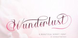 Free Wunderlust Script Font