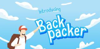 Free Backpacker Display Font