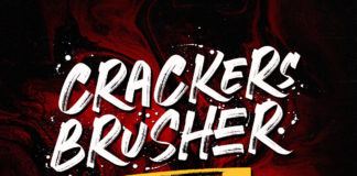 Free Crackers Brusher Brush Font