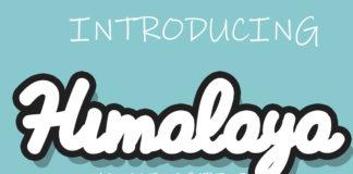 Free Himalaya Script Font