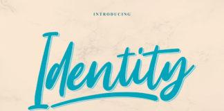 Free Identity Script Font