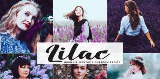 Free Lilac Lightroom Preset