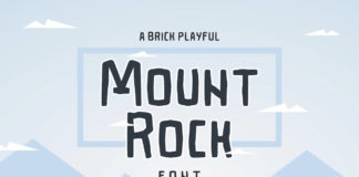 Free Mountrock Summer Camp Font