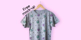 Free Unique T-Shirt Mockup