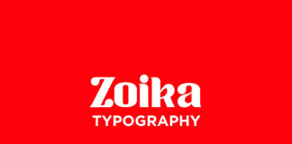 Free Zoika Display Font