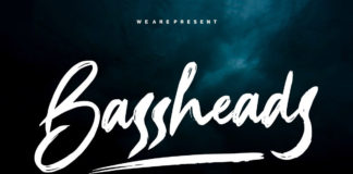 Free Bassheads Handbrush Font