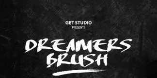 Free Dreamers Brush Font
