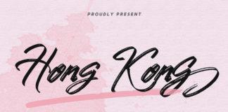 Free Hong Kong Brush Script Font