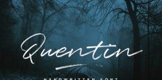 Free Quentin Script Font