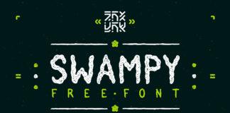 Free Swampy Handmade Font Family