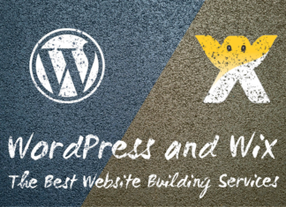 WordPress and Wix - The Best Website Building Services