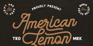 Free American Lemon Script Font