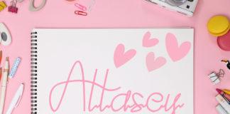 Free Attasey Signature Font