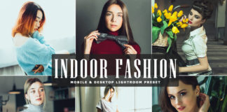 Free Indoor Fashion Lightroom Preset