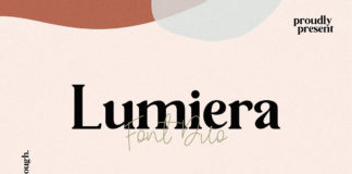 Free Lumiera Sans Serif Font