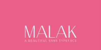 Free Malak Sans Serif Typeface