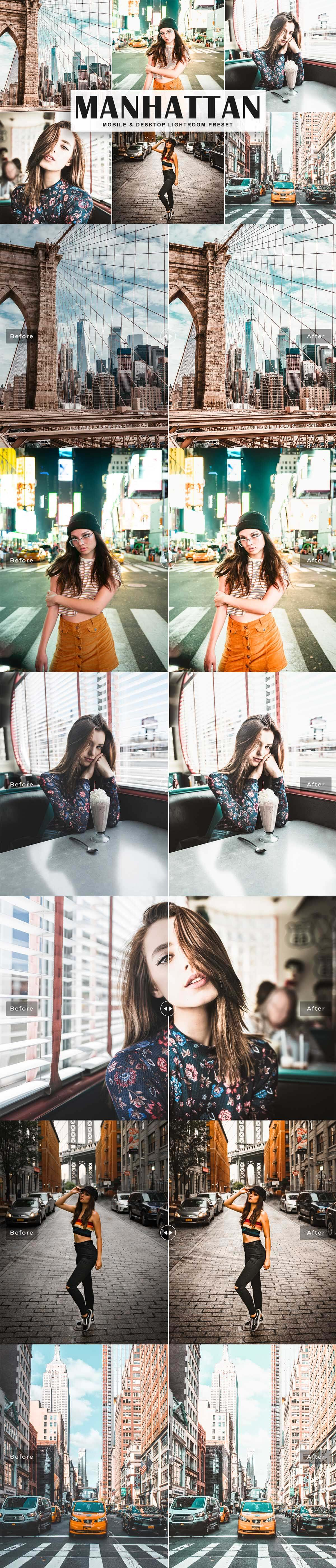Free Manhattan Lightroom Preset