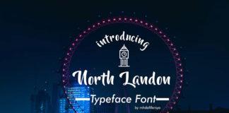 Free North Landon Script Font