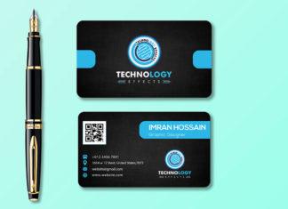 Free Professional Business Card Mockup