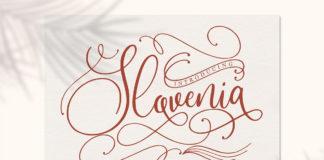 Free Slovenia Script Font