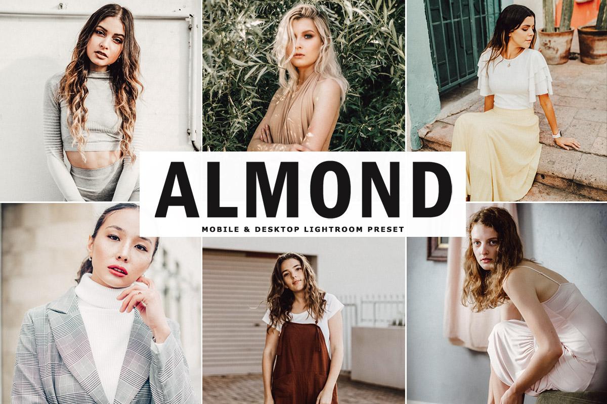 Free Almond Lightroom Preset