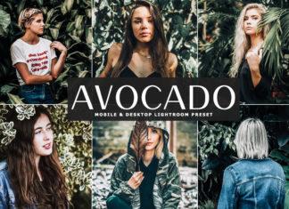 Free Avocado Lightroom Preset