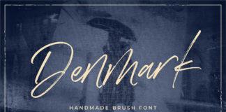 Free Denmark Brush Font