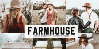Free Farmhouse Lightroom Preset