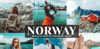 Free Norway Lightroom Preset