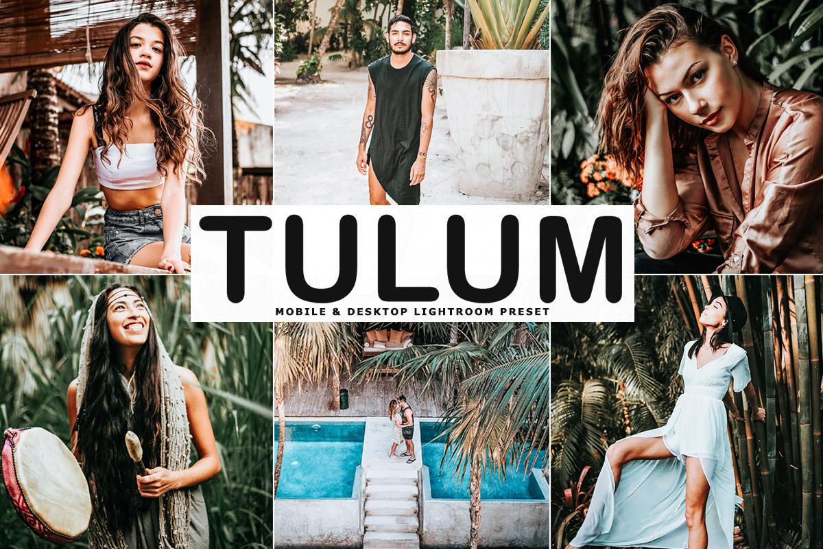 Free Tulum Lightroom Preset