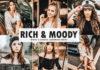 Free Rich & Moody Lightroom Preset