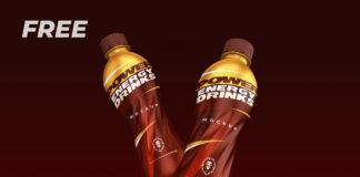 Free Energy Drink Mockup