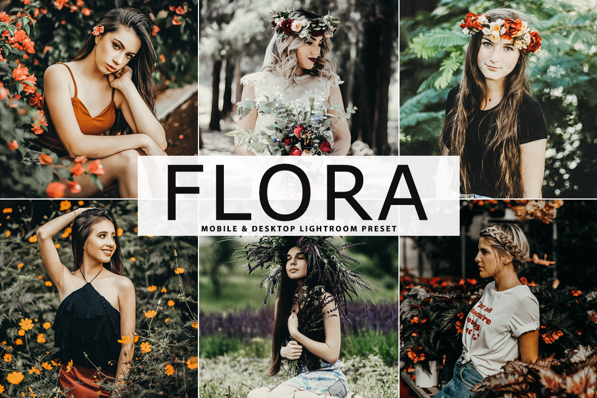 Free Flora Lightroom Preset