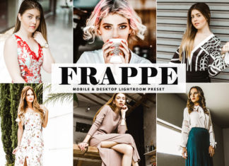 Free Frappe Lightroom Preset
