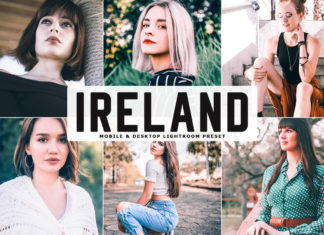 Free Ireland Lightroom Preset