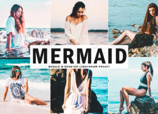Free Mermaid Lightroom Preset